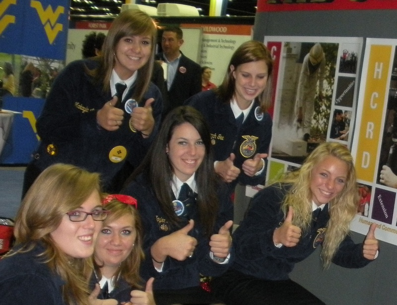 At the 2010 FFA National Convention